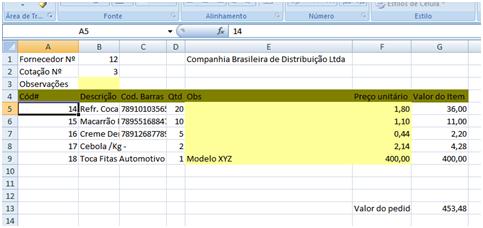 Sistema De Cotação Em Ms Access Pedro Abs