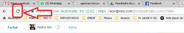 3 atualize o navegador